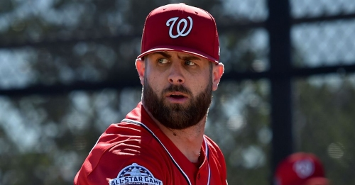 Will Washington Nationals' brothers Bryce Harper and Bryan Harper play together in the majors in 2018?