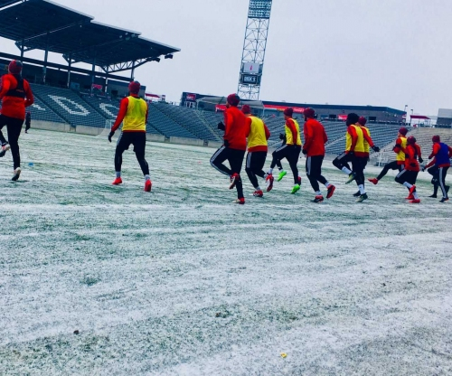 'IT'S LIKE PLAYING IN F—ING SIBERIA': Toronto FC, Rapids brave frigid temperatures ahead of Champions League opener