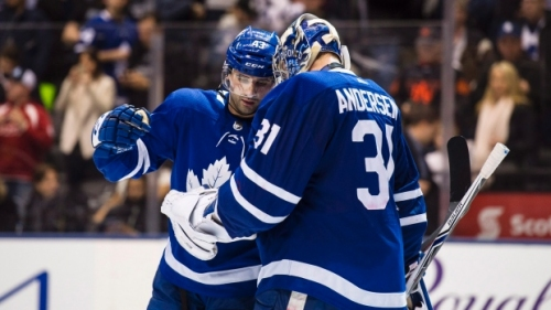 Andersen stops 40 as Maple Leafs blank Panthers - Article - TSN