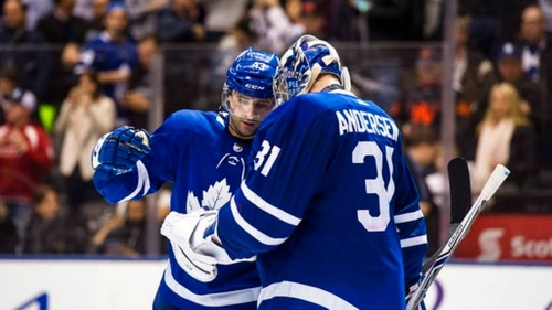 Andersen makes 40 saves, Maple Leafs blank Panthers 1-0   The News Tribune