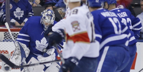 Andersen helps Maple Leafs blank Panthers | Toronto Star