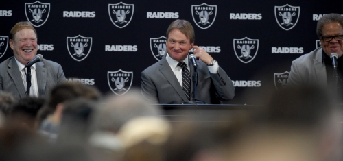 Raiders mailbag: Looking at off-season moves with Gruden in charge