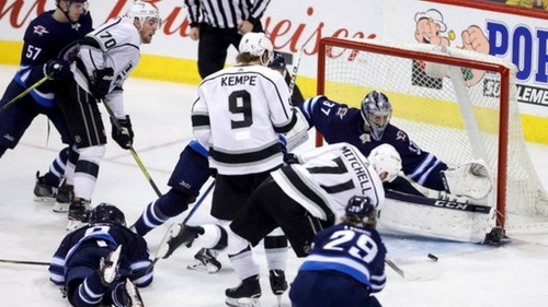 Phaneuf scores again for Kings in 4-3 win over Jets | The News Tribune