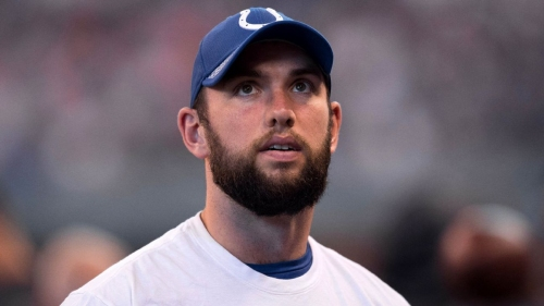 Andrew Luck of Indianapolis Colts says shoulder surgery 'not an option for me right now'