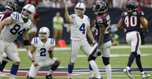 Adam Vinatieri on His Way Back to the Colts