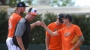 Orioles notes: Andrew Cashner's first bullpen session in Sarasota draws an interested crowd