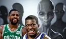 The Extremely Hilarious Question Nate Robinson Asked Kyrie Irving During The All-Star Weekend