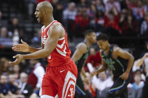 Let's hope the Rockets make the NBA finals, if just for variety