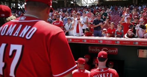 Reds' single-game tickets on sale Saturday