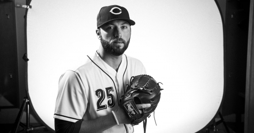 Cincinnati Reds pitcher Cody Reed has impressed the boss early in camp