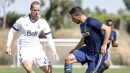LA Galaxy fall 2-0 to Vancouver Whitecaps FC in closed-door scrimmage