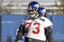 Giants re-sign lineman with Pat Shurmur connections