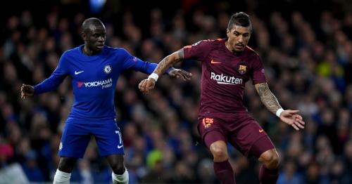 Tottenham fans mock Paulinho's display for Barcelona against Chelsea