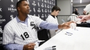 White Sox's Eloy Jimenez a big hit in any language