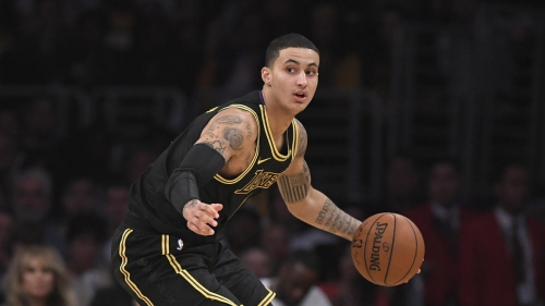 An inside look at how Lakers rookie Kyle Kuzma is stylin', how his T-shirts are flyin' and how he's livin' large in LA