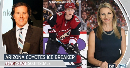 Join Jakob Chychrun at Coyotes Ice Breaker on Feb. 21