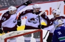 Avalanche score four unanswered goals to beat Canucks 5-4 in overtime