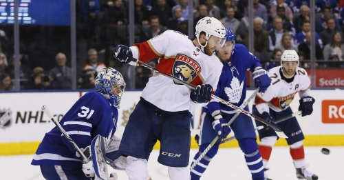 Panthers end road trip with tough 1-0 loss to Maple Leafs