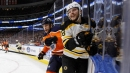 Bruins notebook: Milan Lucic always gets nostalgic when he plays his former team