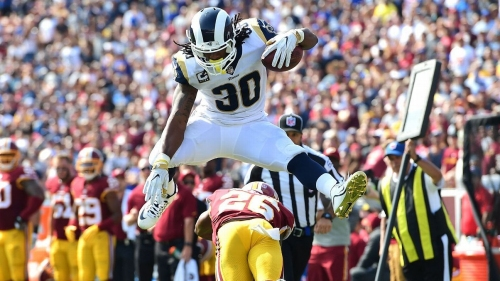 Ranking Todd Gurley's hurdles in honor of the Olympics - Los Angeles Rams Blog- ESPN