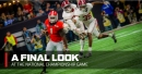 Georgia can follow Clemson's lead to a national championship