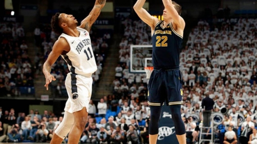 Robinson leads No. 17 Wolverines over Penn State | The Fresno Bee
