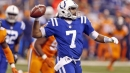 New Colts coach Frank Reich doesn't want to trade Jacoby Brissett