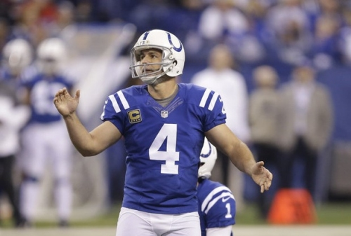 Adam Vinatieri signs one-year deal with Indianapolis Colts, is in line to break all-time NFL scoring record (report)