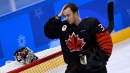 Ben Scrivens of Canada day-to-day with shoulder, collarbone injury