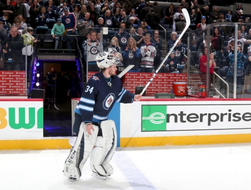 Q&A with Jets goalie Michael Hutchinson on asking for a...