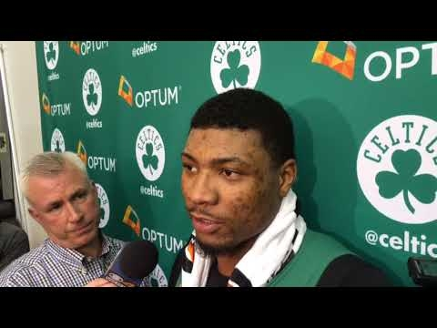 Boston Celtics news: Marcus Smart describes how piece of glass almost forced him to have season-ending surgery