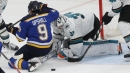 Tipsheet: Sharks show Blues what perseverance looks like
