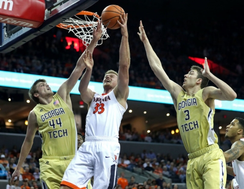 Virginia outlasts Georgia Tech, secures No. 1 seed in ACC Tournament