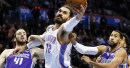 The 'box out' stat was created for Steven Adams ... and he doesn't care