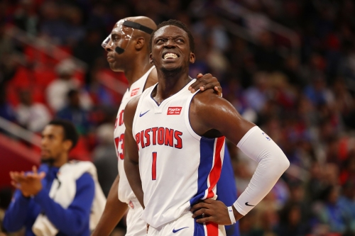 Detroit Pistons: Reggie Jackson closer to return but still week-to-week