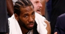 Brand Appeal: Cris Carter questions what role Kawhi Leonard's shoe deal is playing in Spurs drama (VIDEO)