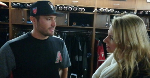 A.J. Pollock: D-backs fired up by roster additions (VIDEO)
