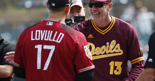 Diamondbacks defeat Arizona State in exhibition tune-up before Cactus League play