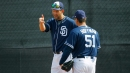 Padres pitcher Wilhelmsen bounced from baseball to bartending — and back