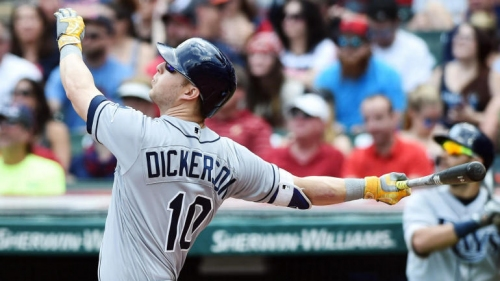 Pirates add Corey Dickerson to outfield in three-player trade with Rays