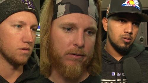 Rockies' pitchers out to go deep into starts