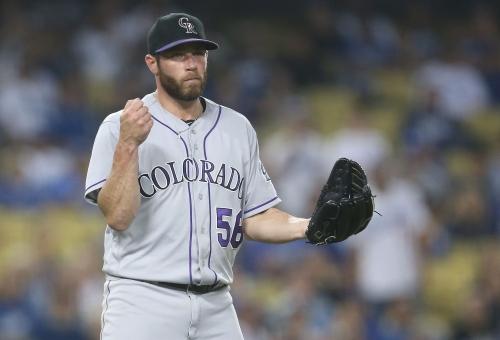 Colorado Rockies: Greg Holland made a mistake