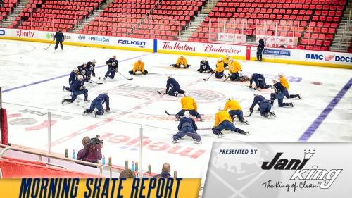 Lehner to return as Sabres visit Red Wings