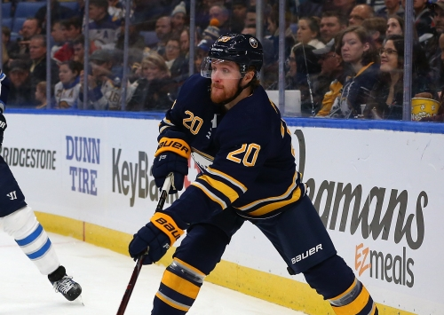 After finally feeling at home, Wilson hopes for long-term stay with Sabres