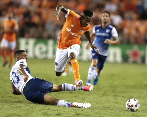 Dynamo's Romell Quioto 'tired but good' after preseason debut