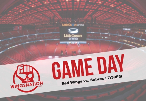 Game Day!! Sabres @ Wings!
