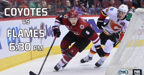 Preview: Coyotes vs. Flames, 6:30 p.m., FOX Sports Arizona
