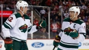 Wild score 3 in 2nd period to rally past Devils