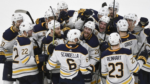 Scandella scores in OT to give Sabres win over Red Wings