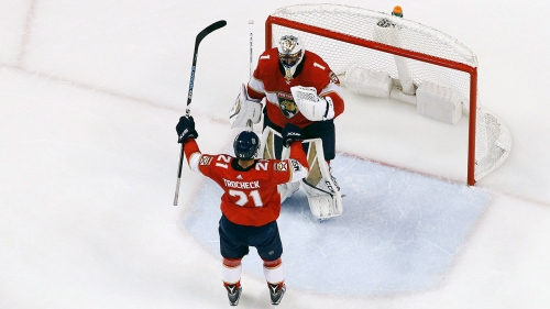 Trocheck scores late winner, Panthers beat Capitals